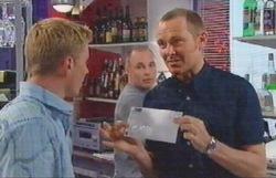 Max Hoyland, Kim Timmins, Boyd Hoyland in Neighbours Episode 4886