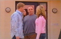 Boyd Hoyland, Kim Timmins, Janae Timmins in Neighbours Episode 4886