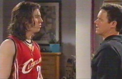 Dylan Timmins, Paul Robinson in Neighbours Episode 4888