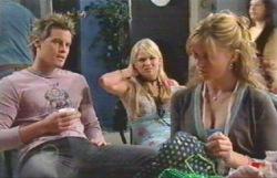 Ned Parker, Sky Mangel, Elle Robinson in Neighbours Episode 4888
