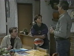 Nick Page, Todd Landers, Jim Robinson in Neighbours Episode 0997