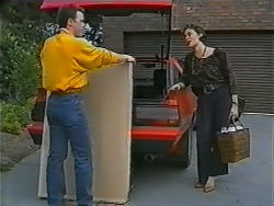 Paul Robinson, Gail Robinson in Neighbours Episode 0997
