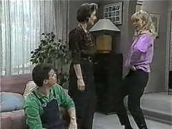 Paul Robinson, Gail Robinson, Jane Harris in Neighbours Episode 0997