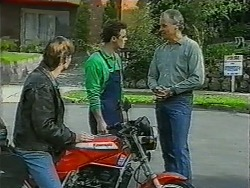 Mike Young, Paul Robinson, Jim Robinson in Neighbours Episode 0997