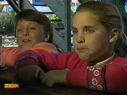 Toby Mangel, Katie Landers in Neighbours Episode 0999