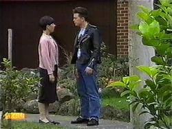 Hilary Robinson, Matt Robinson in Neighbours Episode 0999