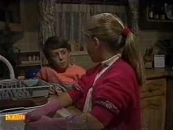 Toby Mangel, Katie Landers in Neighbours Episode 0999