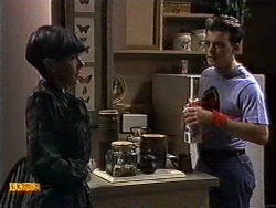 Hilary Robinson, Matt Robinson in Neighbours Episode 0999