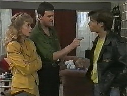 Jane Harris, Des Clarke, Mike Young in Neighbours Episode 1001