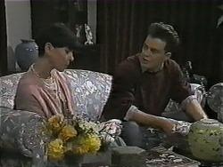 Hilary Robinson, Matt Robinson in Neighbours Episode 1002