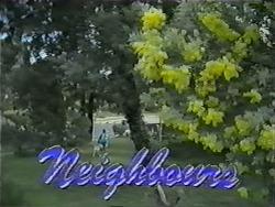 Bouncer, Toby Mangel in Neighbours Episode 1002