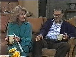 Madge Bishop, Harold Bishop in Neighbours Episode 1003