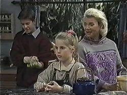 Todd Landers, Katie Landers, Helen Daniels in Neighbours Episode 1003