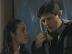 Kerry Bishop, Joe Mangel in Neighbours Episode 1003