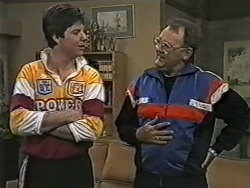 Joe Mangel, Harold Bishop in Neighbours Episode 1077