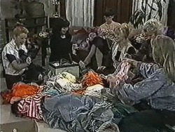 Melanie Pearson, Kerry Bishop, Hilary Robinson, Sharon Davies, Helen Daniels, Bronwyn Davies in Neighbours Episode 1078