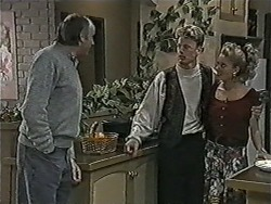 Ted Morrow, Henry Ramsay, Bronwyn Davies in Neighbours Episode 1079