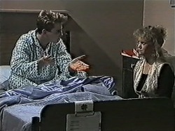 Nick Page, Sharon Davies in Neighbours Episode 1079