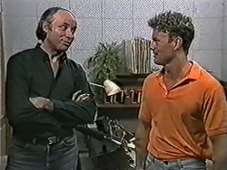 Ted Morrow, Henry Ramsay in Neighbours Episode 1079