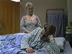 Sharon Davies, Nick Page in Neighbours Episode 1079