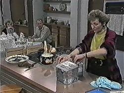 Helen Daniels, Jim Robinson, Beverly Marshall in Neighbours Episode 1080