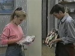 Melissa Jarrett, Todd Landers in Neighbours Episode 1080