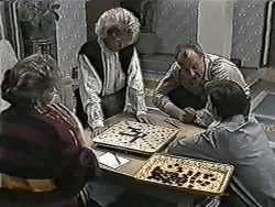 Beverly Marshall, Helen Daniels, Jim Robinson, Todd Landers in Neighbours Episode 1080