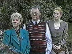 Helen Daniels, Harold Bishop, Melanie Pearson in Neighbours Episode 1081