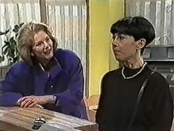 Madge Bishop, Hilary Robinson in Neighbours Episode 1081