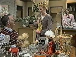 Harold Bishop, Melanie Pearson, Madge Bishop in Neighbours Episode 1081