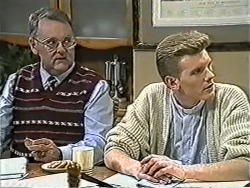Harold Bishop, Reverend Richards in Neighbours Episode 1082