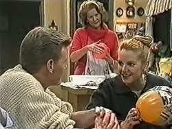 Reverend Richards, Madge Bishop, Melanie Pearson in Neighbours Episode 1082
