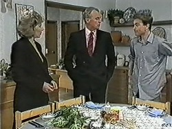 Beverly Marshall, Jim Robinson, Nick Page in Neighbours Episode 1082