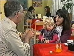 Harold Bishop, Sky Bishop, Kerry Bishop in Neighbours Episode 1082