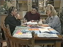 Bronwyn Davies, Matt Robinson, Sharon Davies in Neighbours Episode 1083