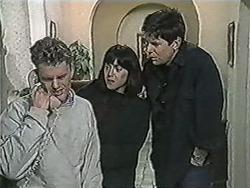 Henry Ramsay, Kerry Bishop, Joe Mangel in Neighbours Episode 1083