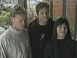 Henry Ramsay, Joe Mangel, Kerry Bishop in Neighbours Episode 1083