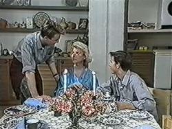 Nick Page, Helen Daniels, Todd Landers in Neighbours Episode 1084