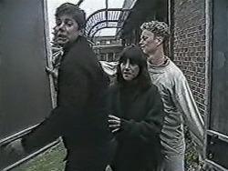 Joe Mangel, Kerry Bishop, Henry Ramsay in Neighbours Episode 1084