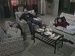 Henry Ramsay, Joe Mangel, Kerry Bishop in Neighbours Episode 1084