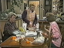 Helen Daniels, Melanie Pearson, Madge Bishop in Neighbours Episode 1085