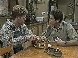 Henry Ramsay, Joe Mangel in Neighbours Episode 1086
