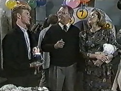Reverend Richards, Harold Bishop, Madge Bishop in Neighbours Episode 1086