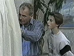 Jim Robinson, Todd Landers in Neighbours Episode 1086