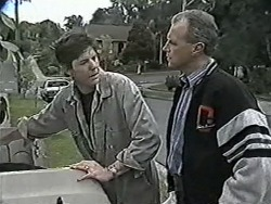 Joe Mangel, Jim Robinson in Neighbours Episode 1086