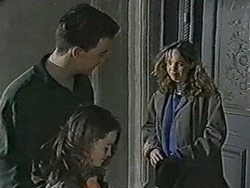 Matt Robinson, Lochy McLachlan, Lee Maloney in Neighbours Episode 1089