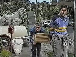 Henry Ramsay, Joe Mangel in Neighbours Episode 1089