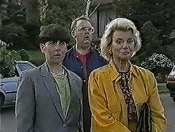 Hilary Robinson, Harold Bishop, Helen Daniels in Neighbours Episode 1089