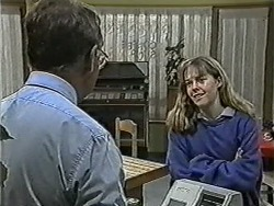 Harold Bishop, Lee Maloney in Neighbours Episode 1090