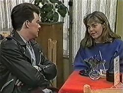 Matt Robinson, Lee Maloney in Neighbours Episode 1090